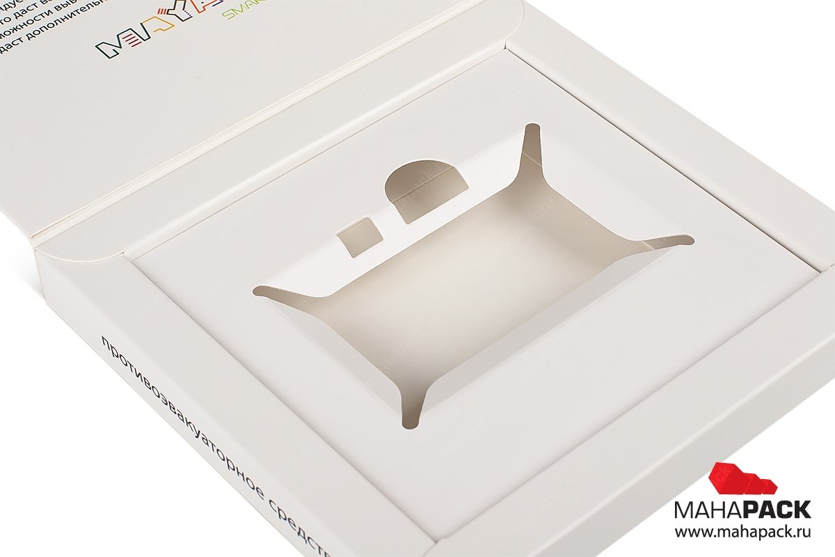 коробки из переплетного картона и милованного картона с ложементом