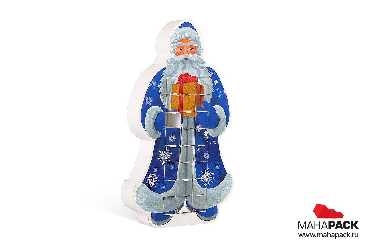 изготовление подарочной упаковки для конфет на новый год