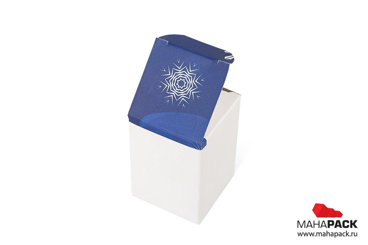 подарочные коробки на новый год - разработка дизайна и изготовление