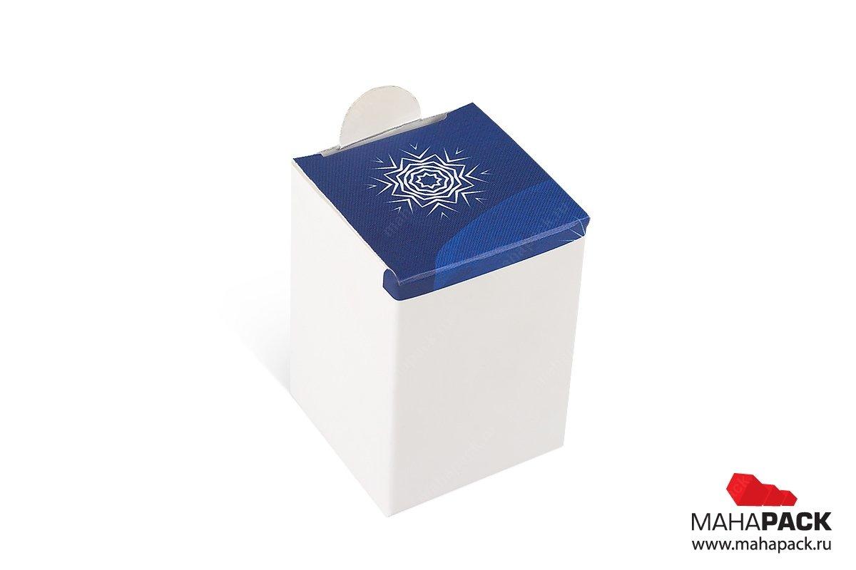подарочные коробки на заказ в виде Санты на новый год