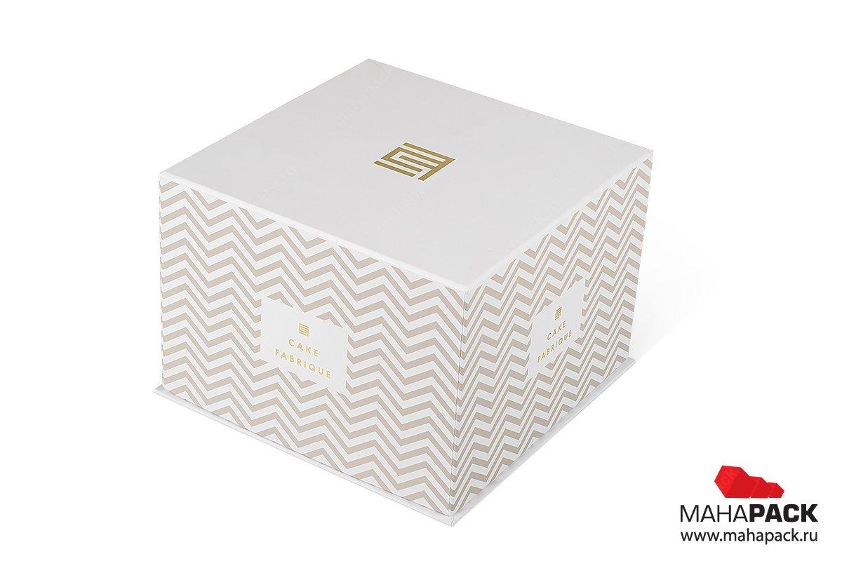 подарочная упаковка для торта - коробки крышка-дно