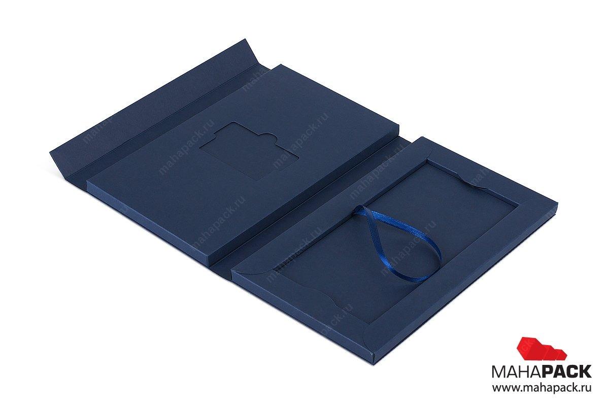 подарочная упаковка из картона для карты пластиковой