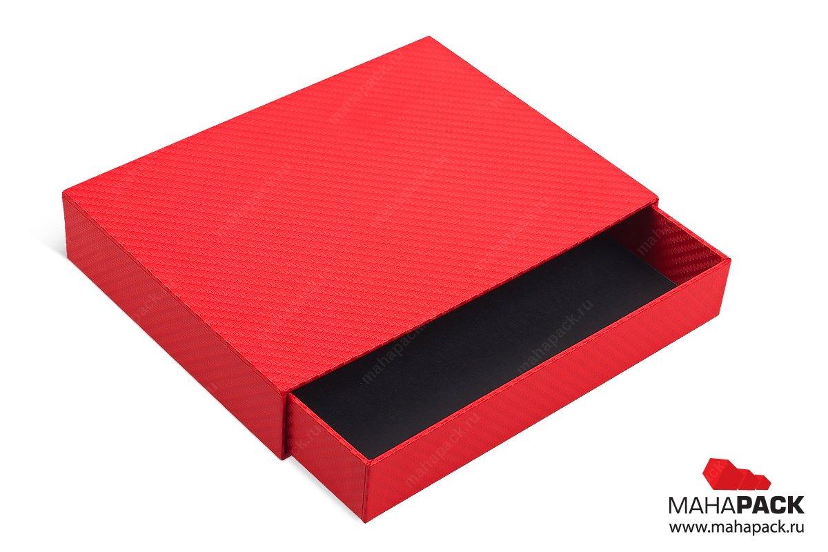 коробка-пенал на заказ большим тиражом