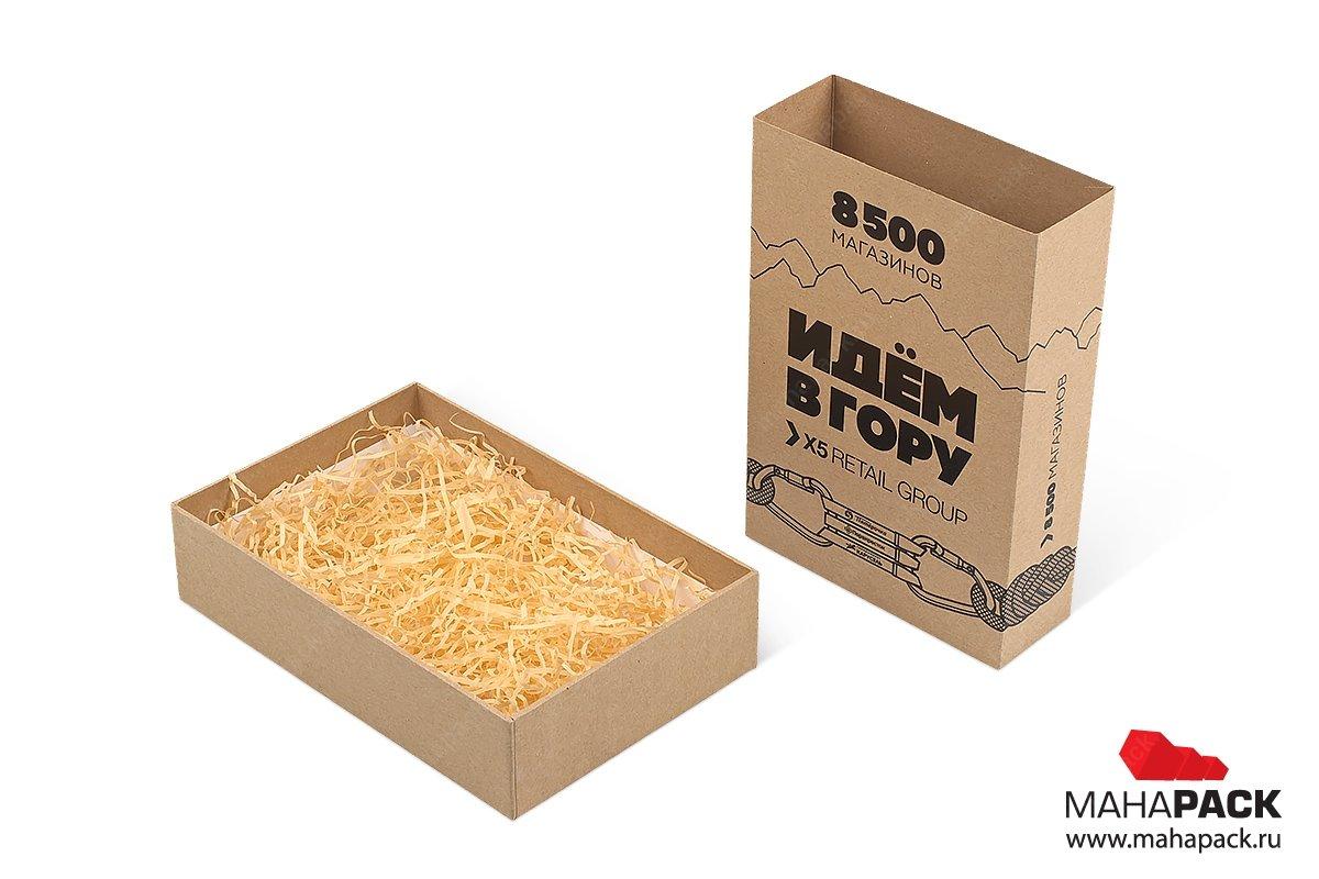 производство подарочных коробок с наполнителем