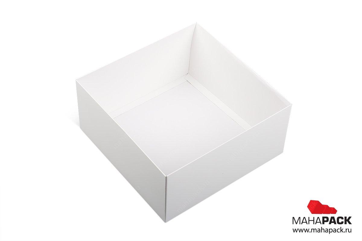 подарочная упаковка для торта - коробка крышка-дно