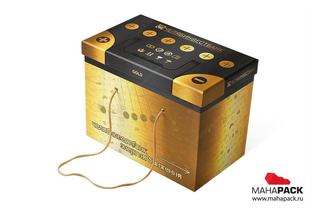 изготовление коробок подарочных с ручками из веревок