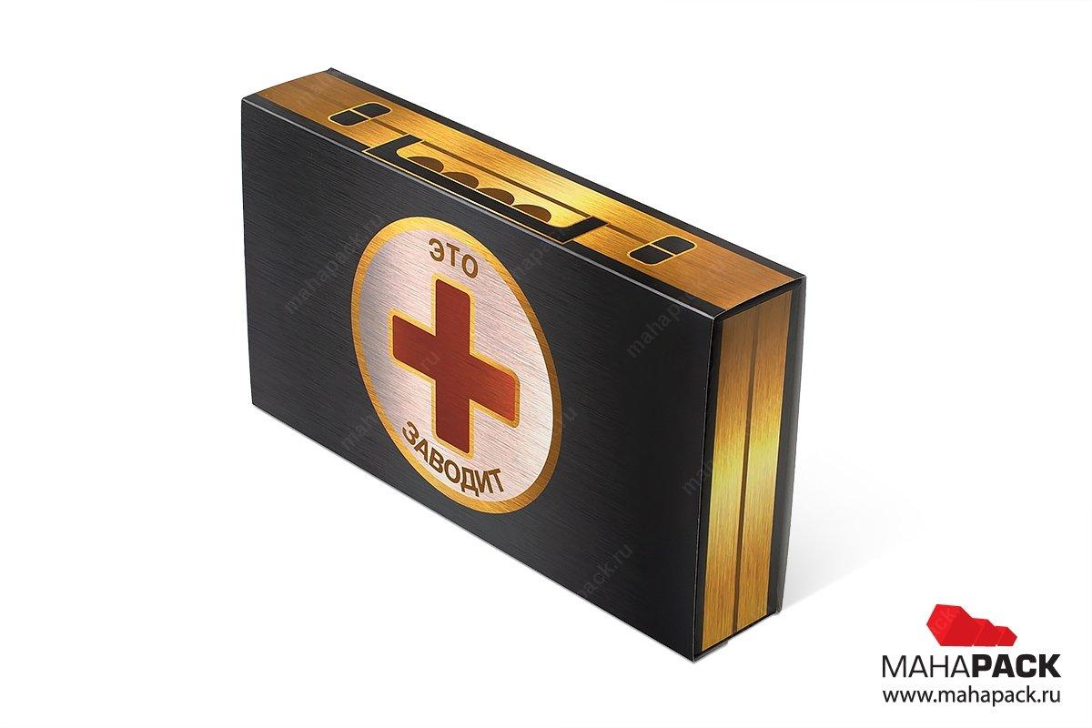 подарочные коробочки пенал на заказ