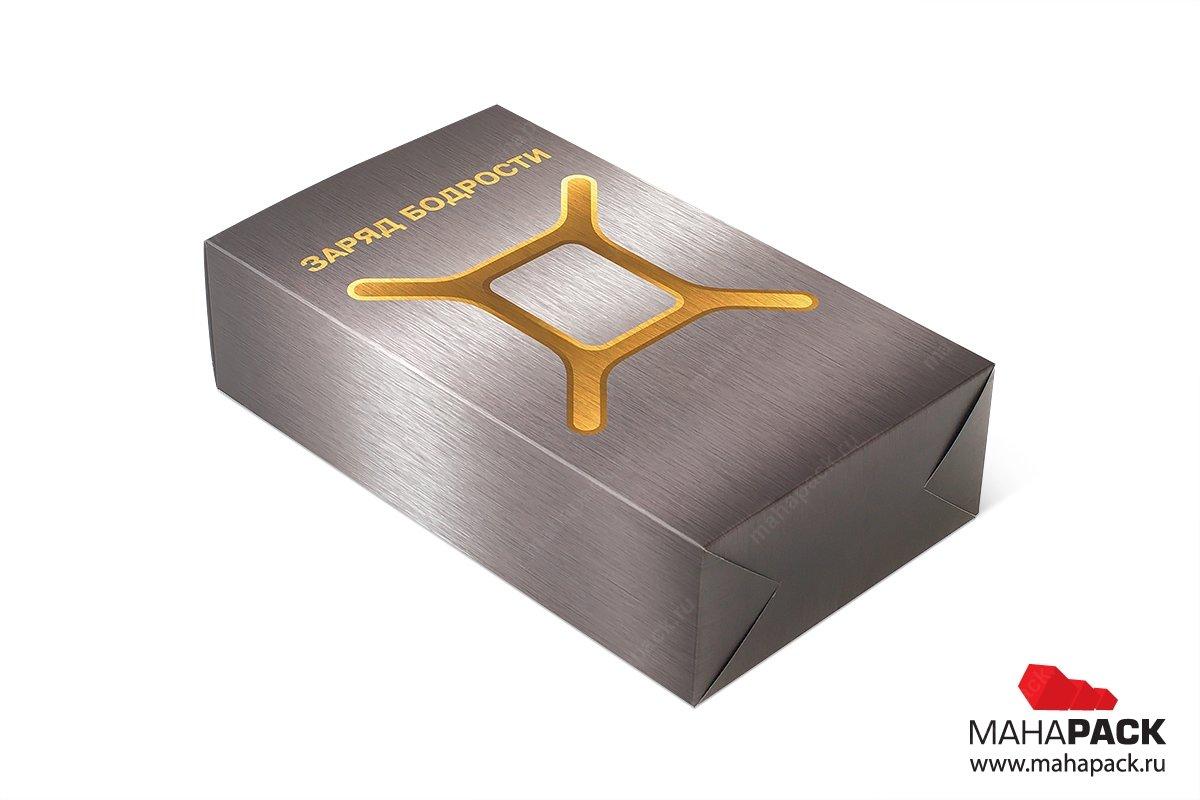 подарочная упаковка - коробки самосборные