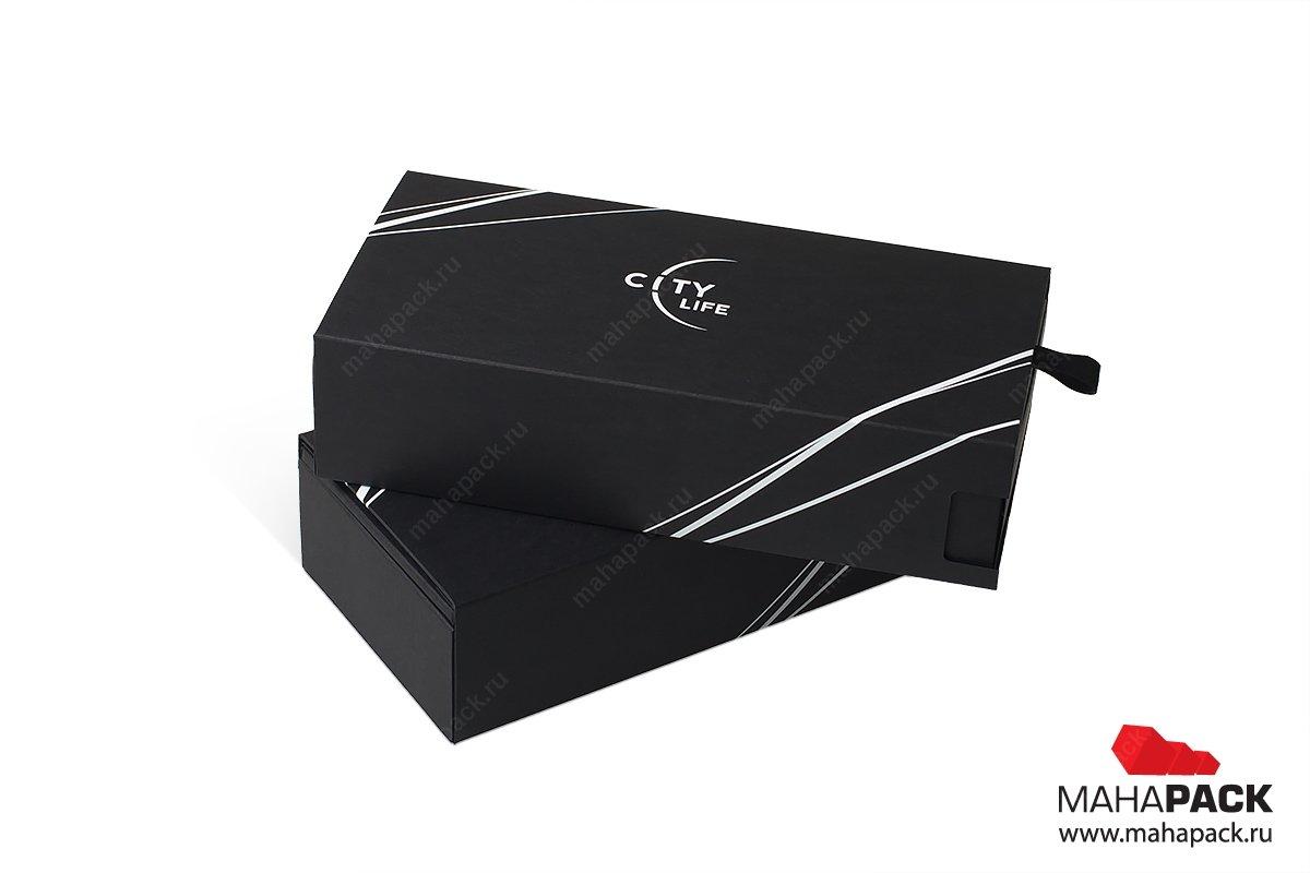 картонная упаковка на заказ для карты и документов