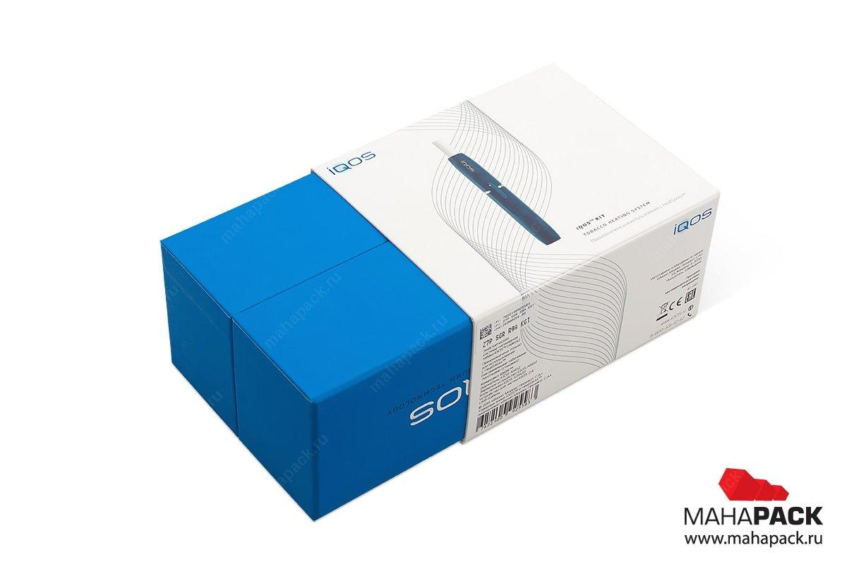 бизнес упаковка - коробка-шкатулка в рукаве