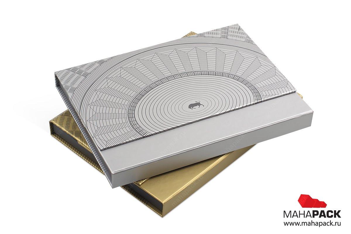 подарочные коробки из переплетного картона для карт