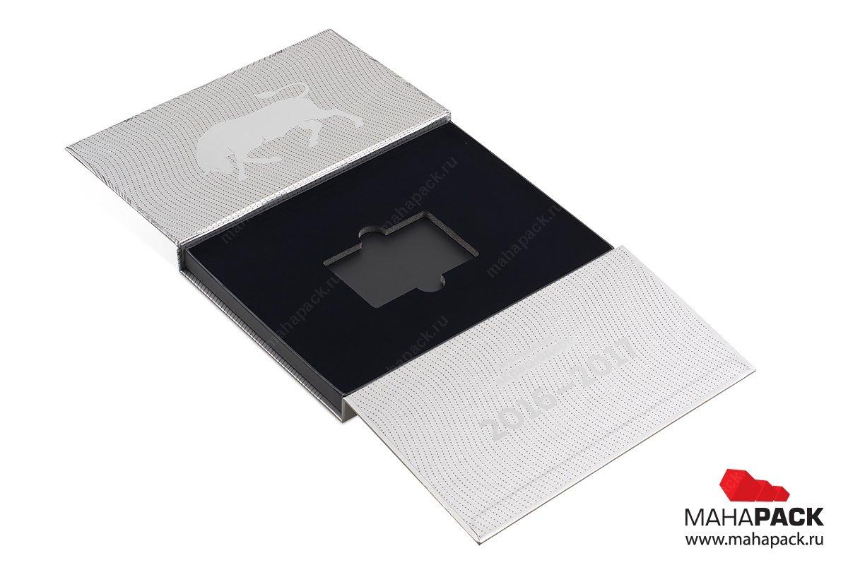 подарочные коробки из переплетного картона для карты