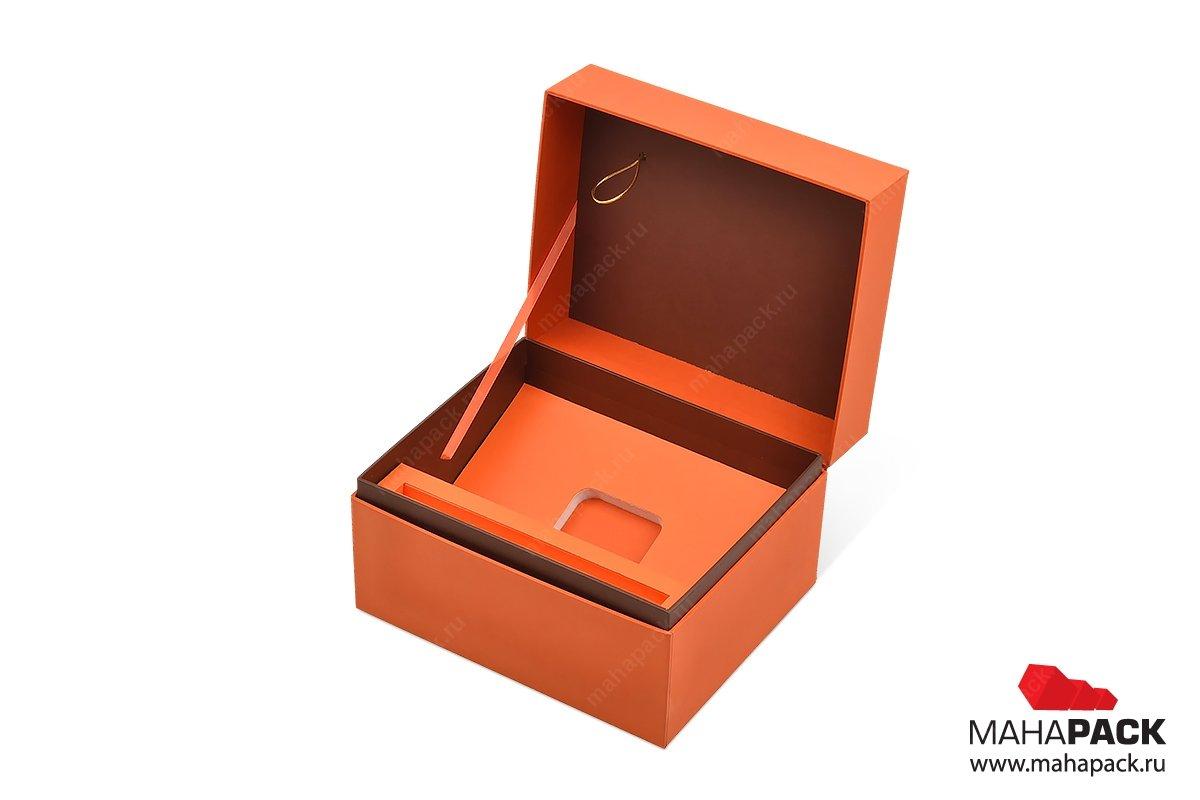 подарочная коробка на заказ большим тиражом для косметики