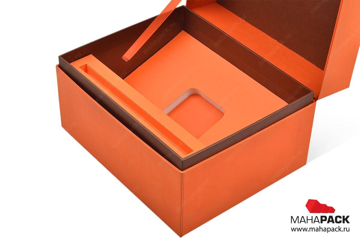 подарочные коробочки на заказ с ложементом