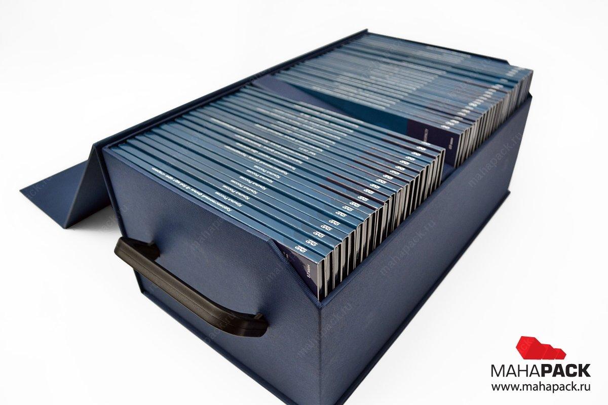 Эксклюзивная кашированная коробка-сундучок
