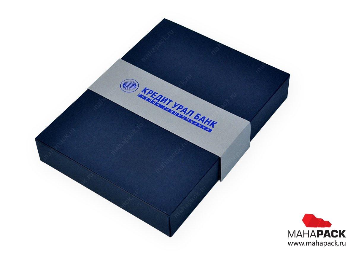 Индивидуальная упаковка для банковской карты и usb-модуля