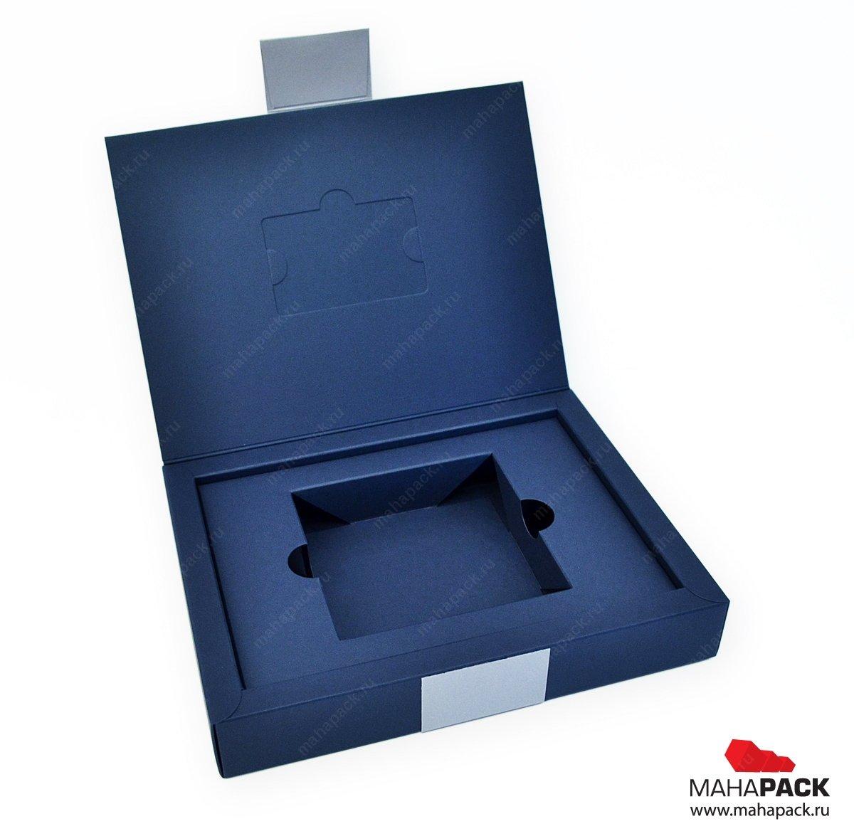 Коробка-книжка с вырубным ложементом