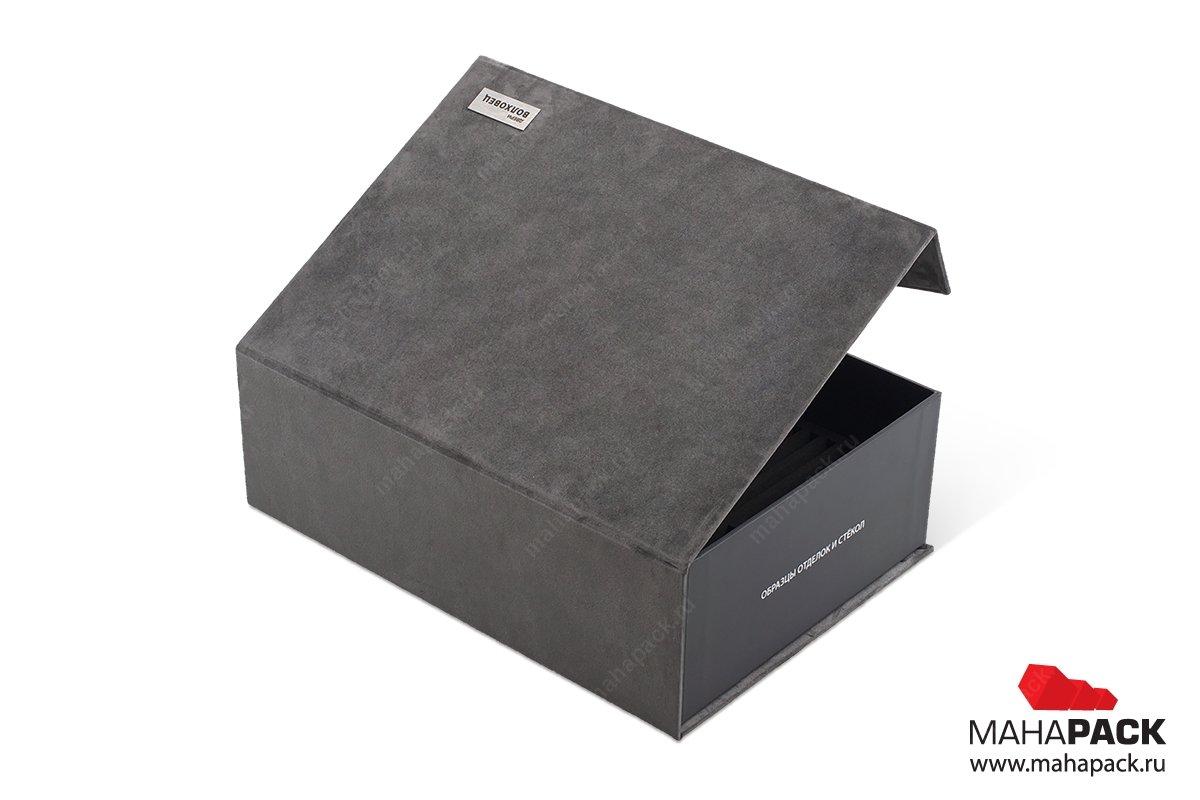 каталог образцов внутри коробки
