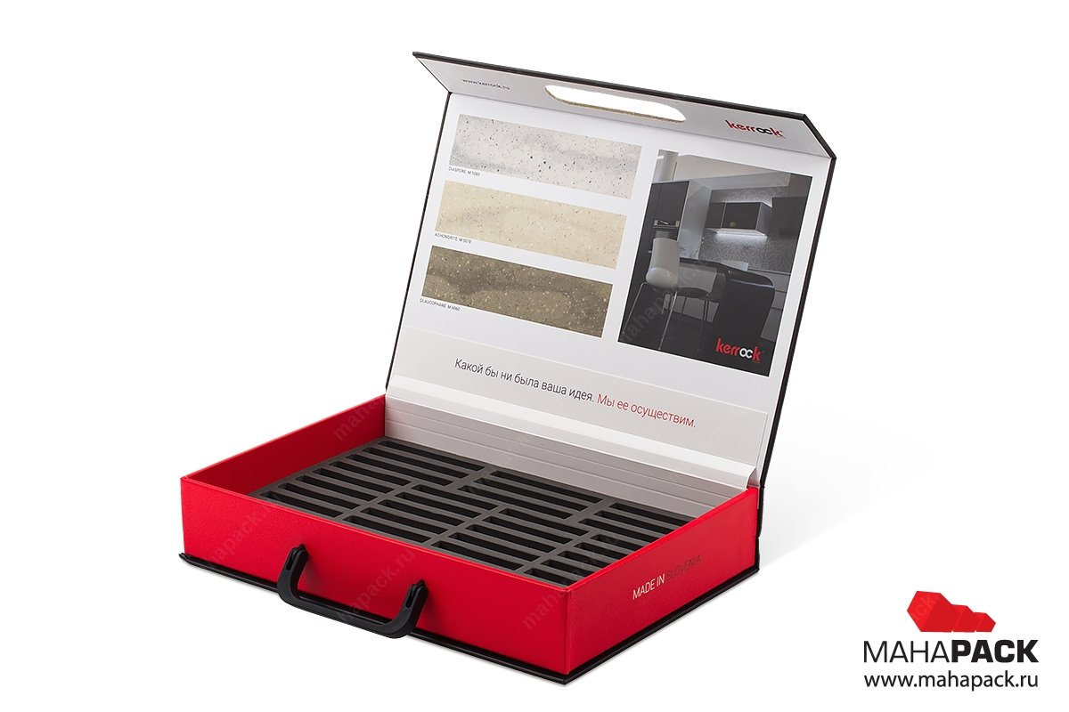 рекламные портфели и чемоданы с ложементом из ЭВА