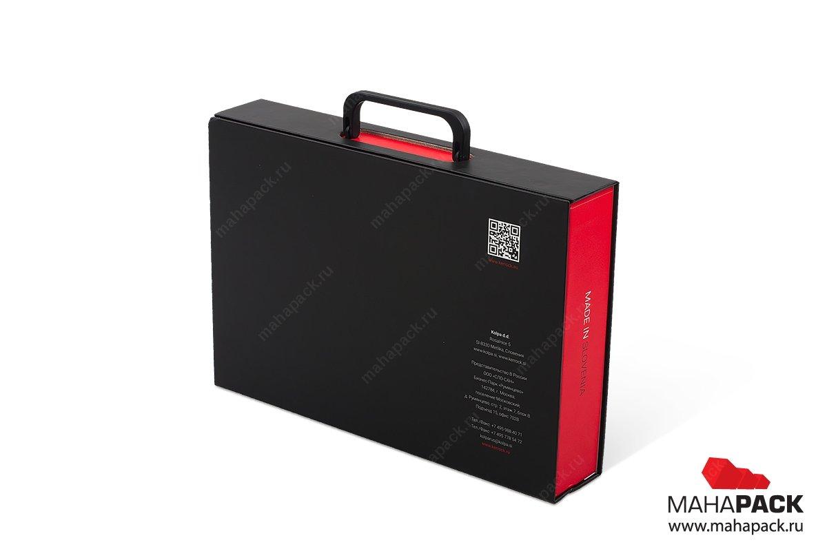 портфель папка и коробка-чемодан с навесными ручками