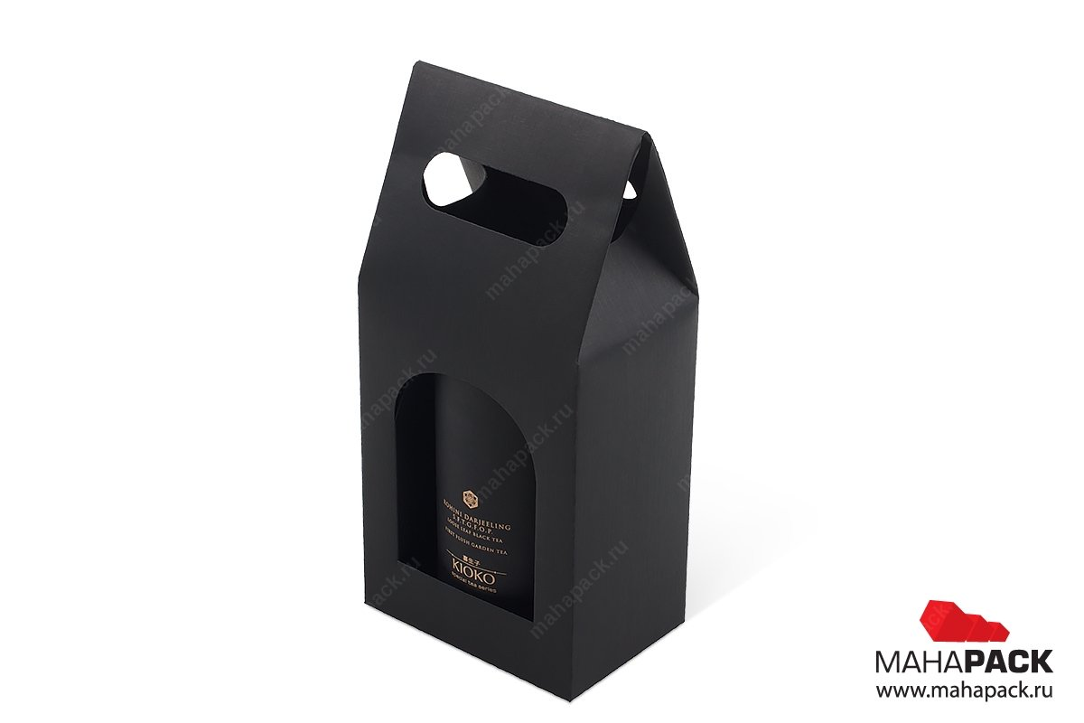 производство подарочных коробок-пакетов с логотипом