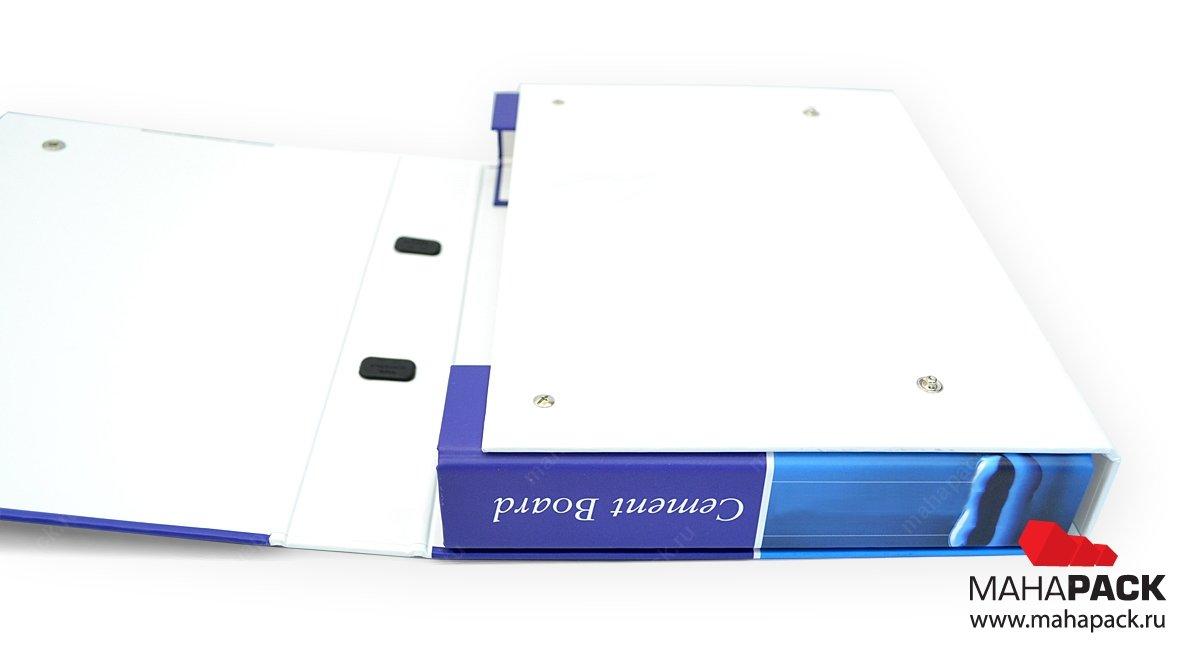 Кашированная портфель-папка для выставки
