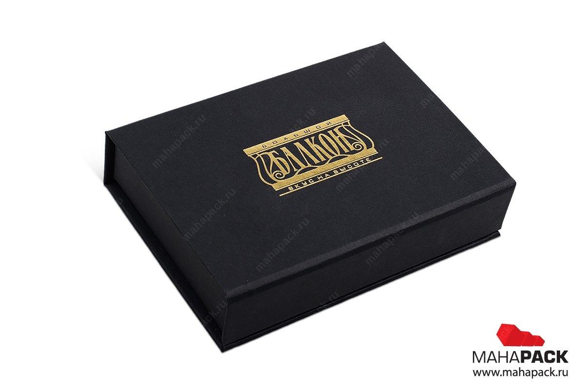 подарочные коробки из переплетного картона, внутри карта
