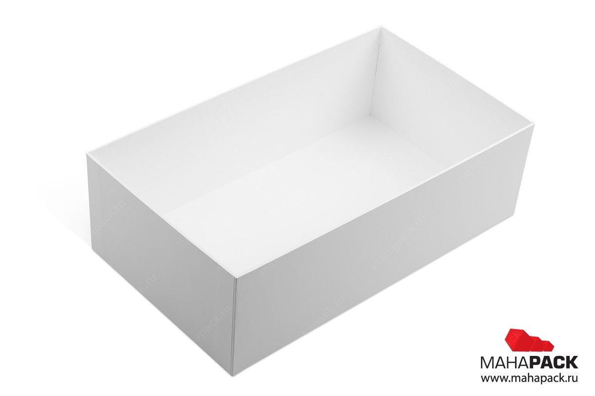 коробки с откидной крышкой большим тиражом