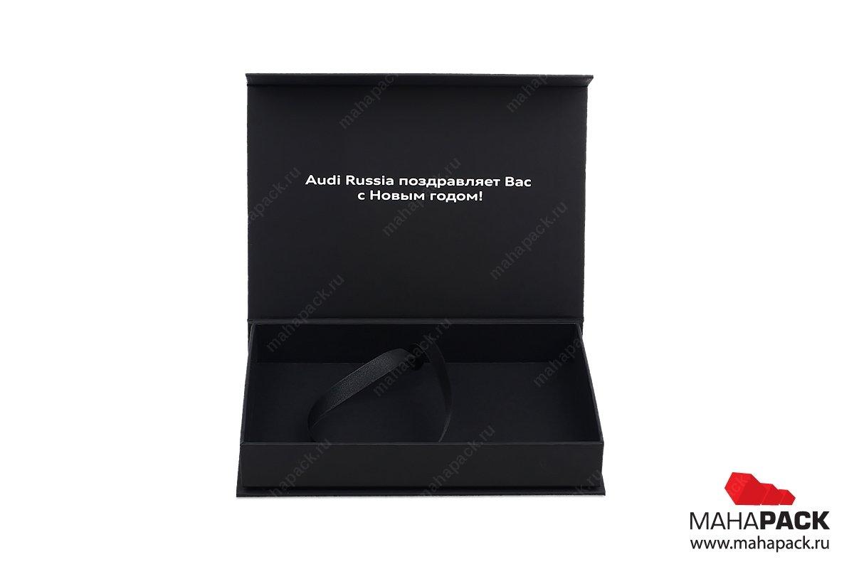подарочная коробочка с лентой