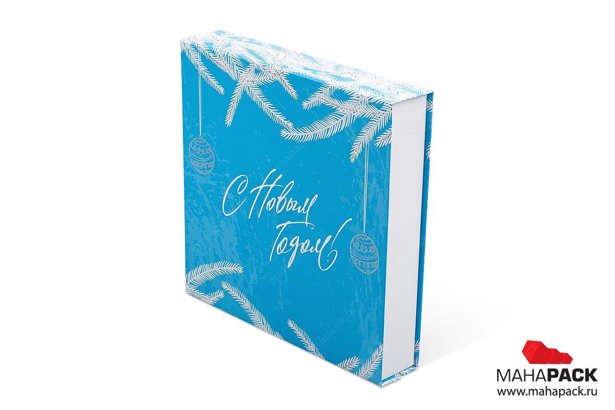 упаковка подарочного набора в кашированную коробку