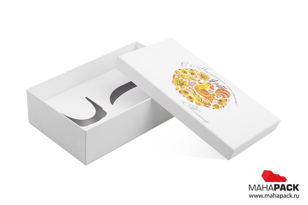 упаковка сувениров - коробка с чайной парой