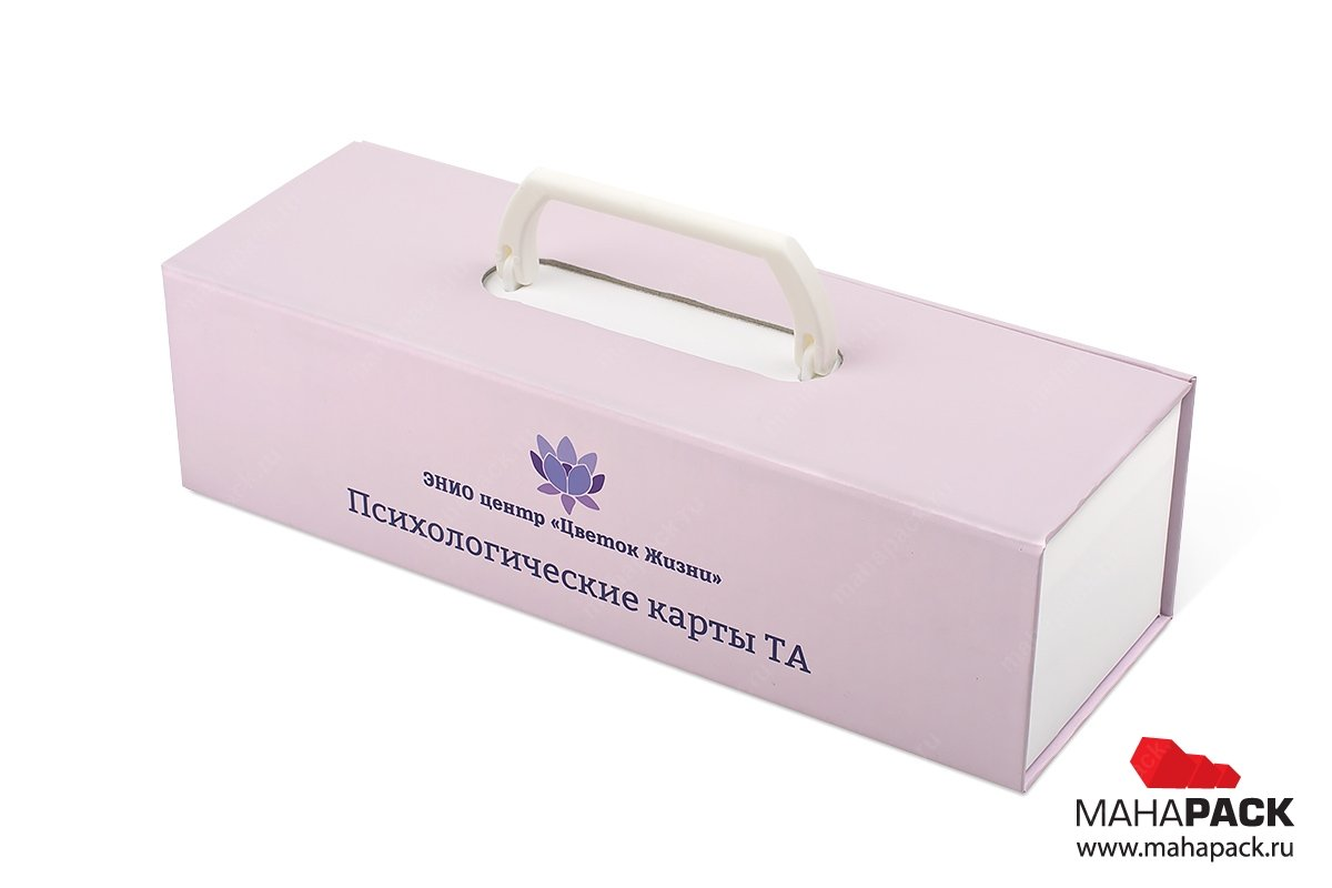 заказать упаковку с логотипом и ручкой