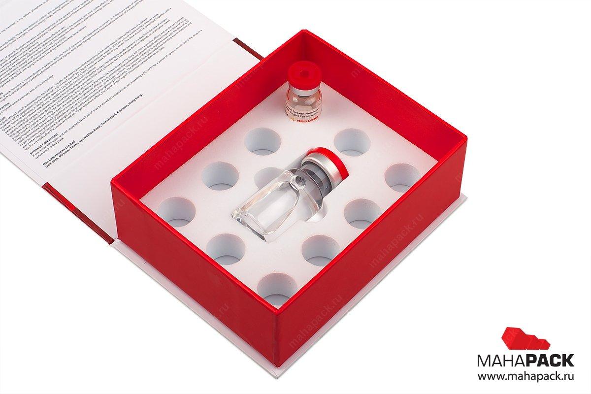 Упаковка с ложементом из ЭВА
