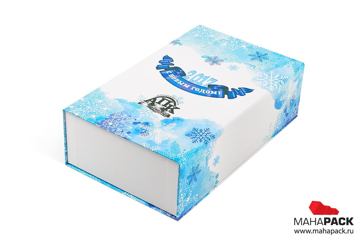 коробки для подарков большим тиражом