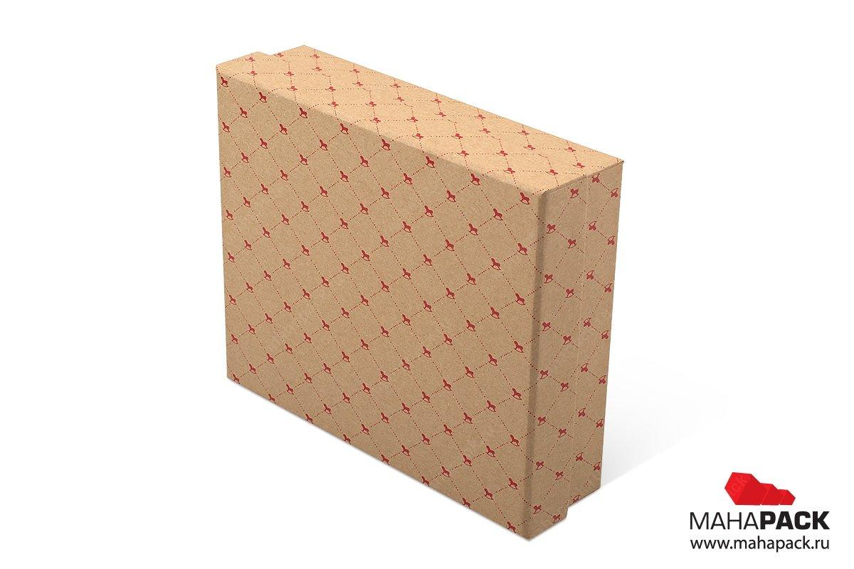 подарочная коробочка из крафт бумаги