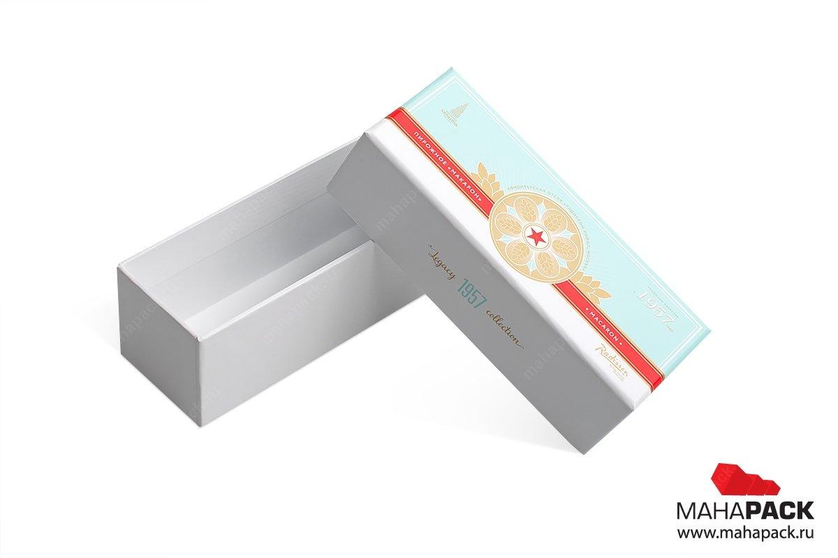 упаковка подарков - коробка крышка-дно с конфетами