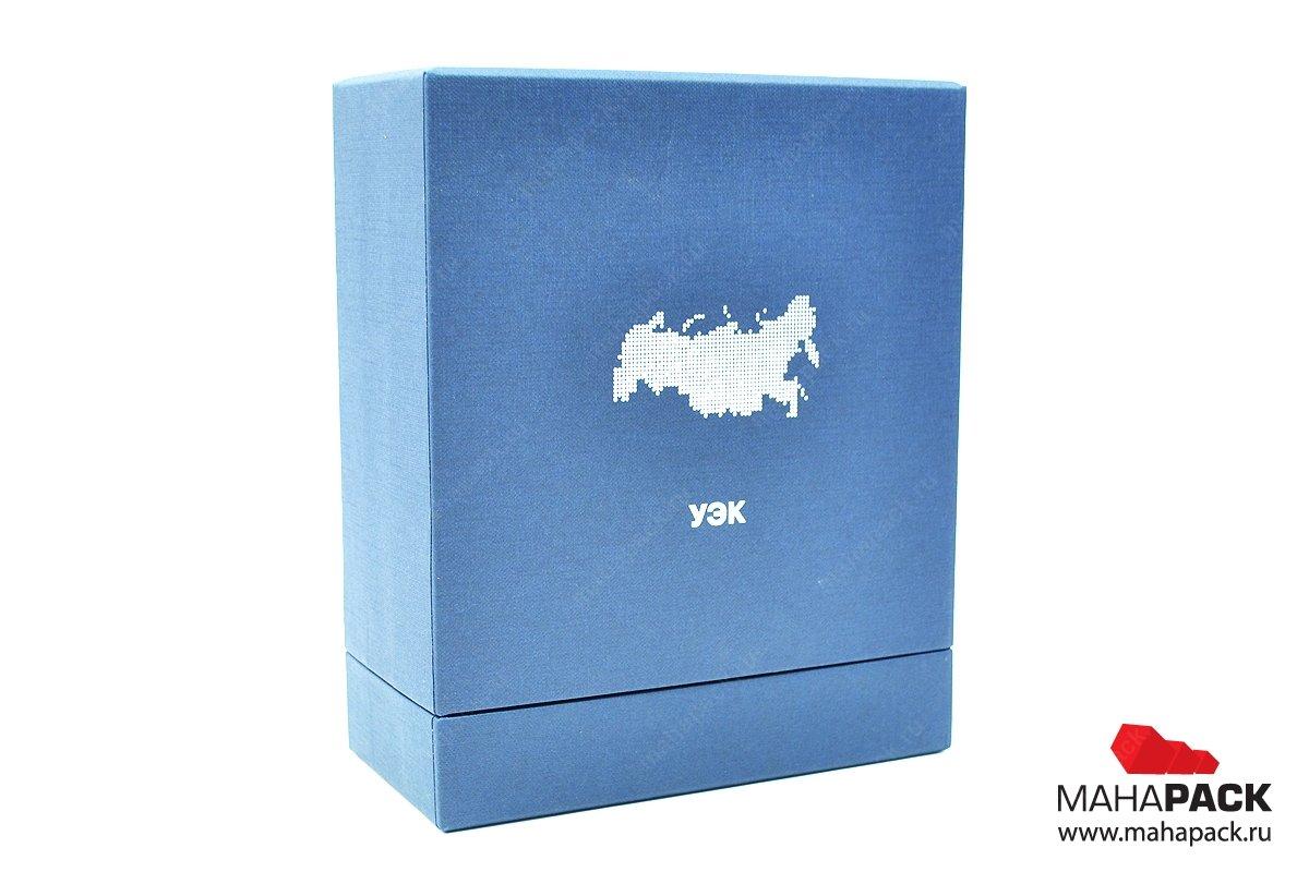 Кашированная коробка-тубус с тиснением — кашированная упаковка