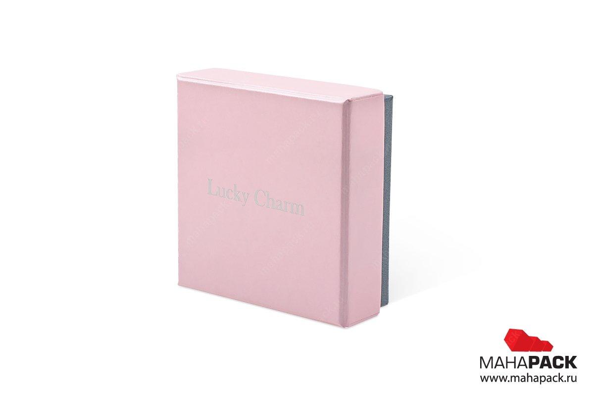 подарочная ювелирная упаковка - коробка крышка-дно