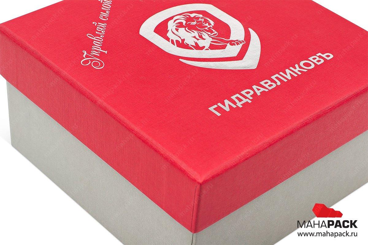 коробка на заказ с тиснением