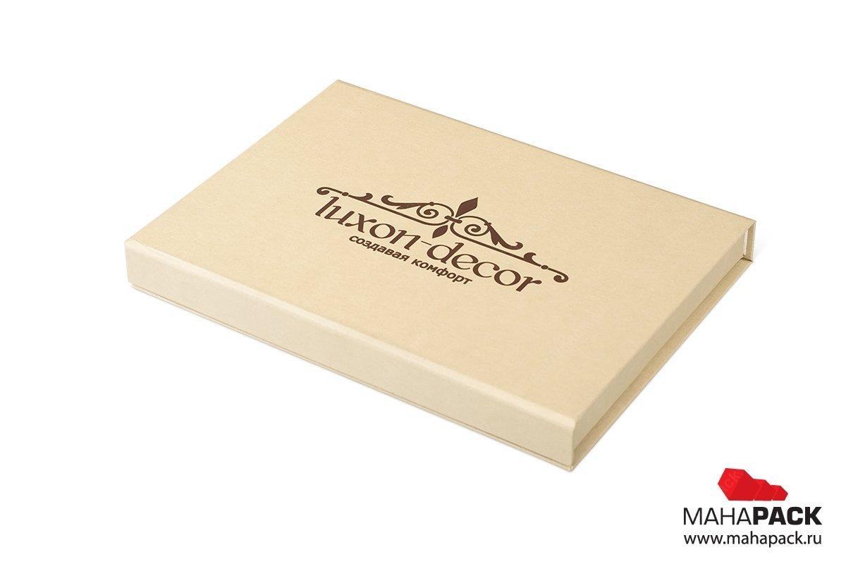 папка и коробки с ложементом для образцов продукции