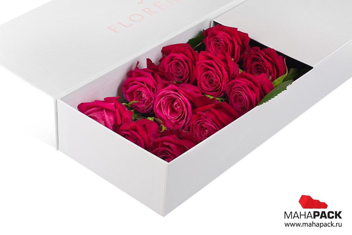 элегантная коробкак для цветов как мгк roseshire