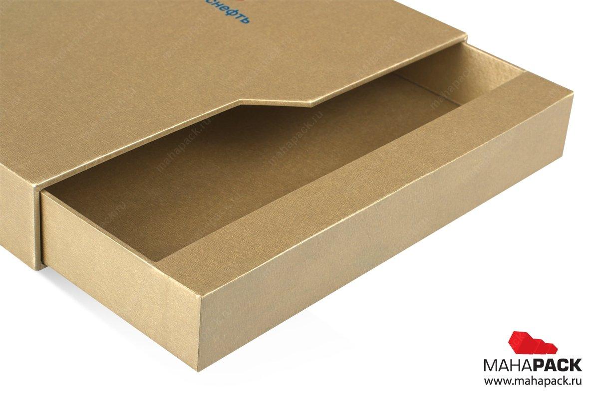 подарочные коробки на заказ со скосом