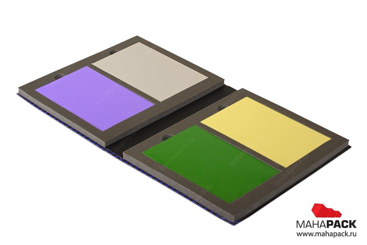 папка для образцов продукции с изолоновым ложементом