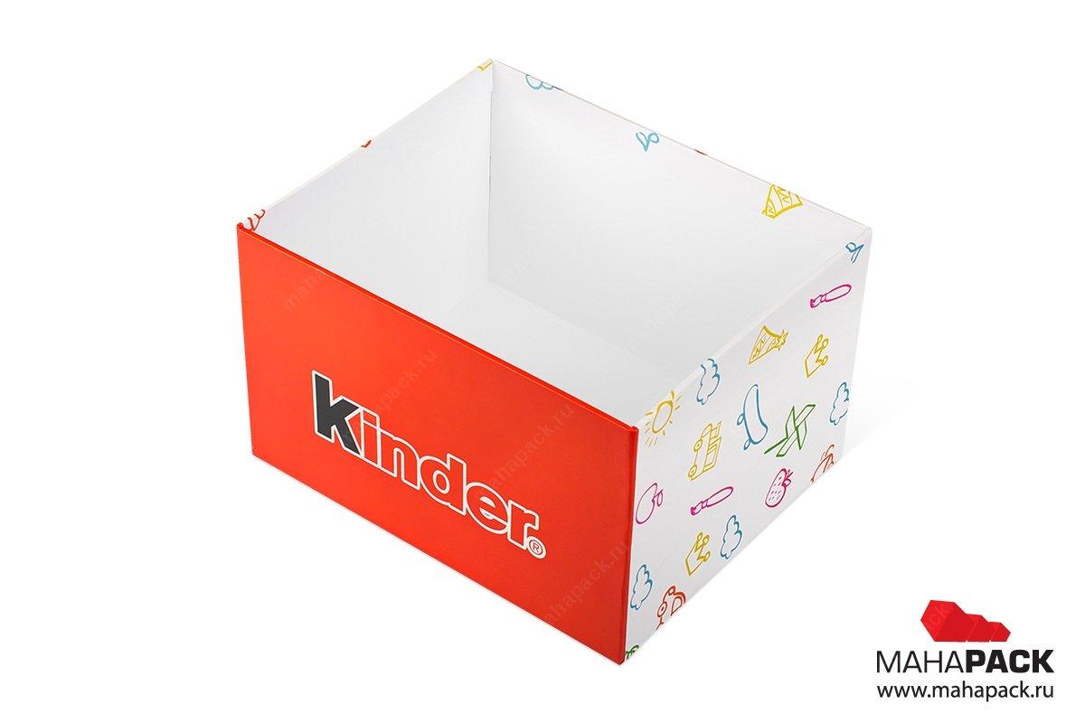 подарочная коробочка крышка-дно