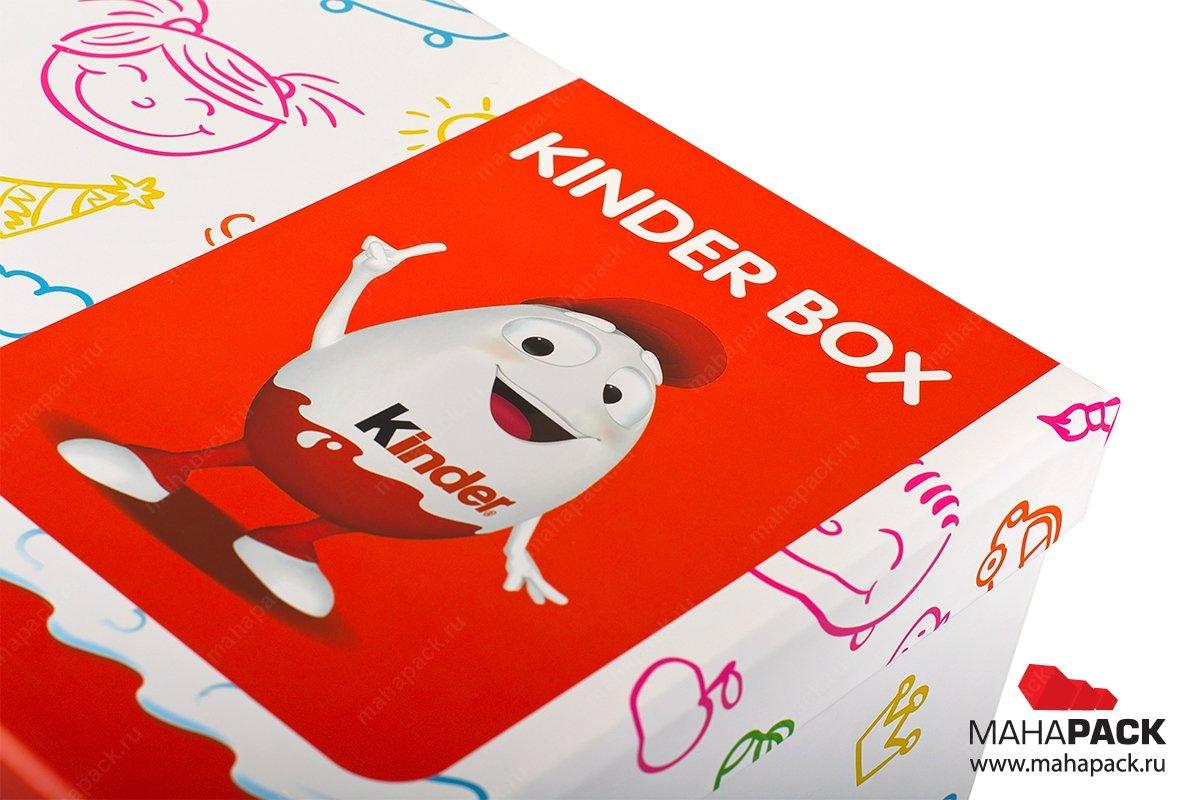 подарочная коробочка - разработка дизайна и печать