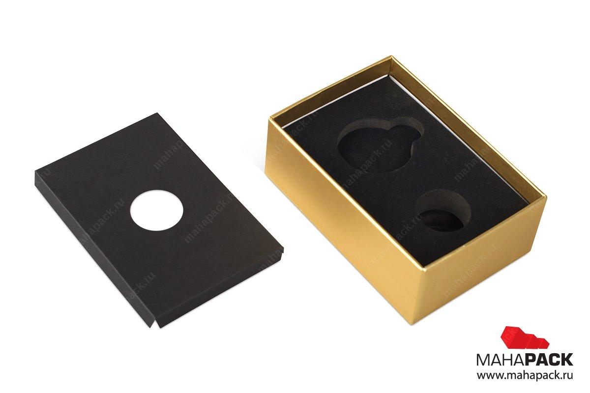 подарочные коробки на заказ с ложементом