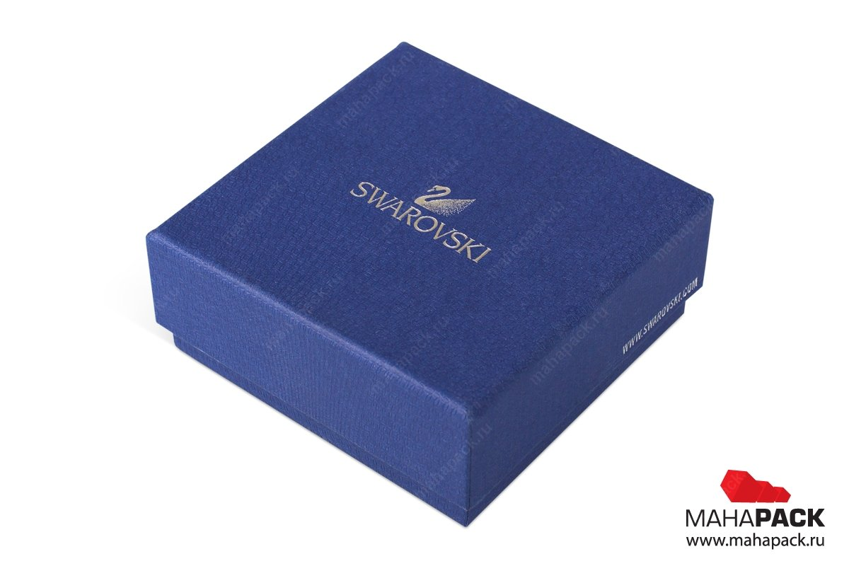 Коробка крышка-дно для ювелирных украшений и бижутерии