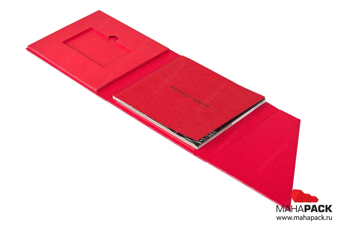 vip упаковка для флешки и буклета