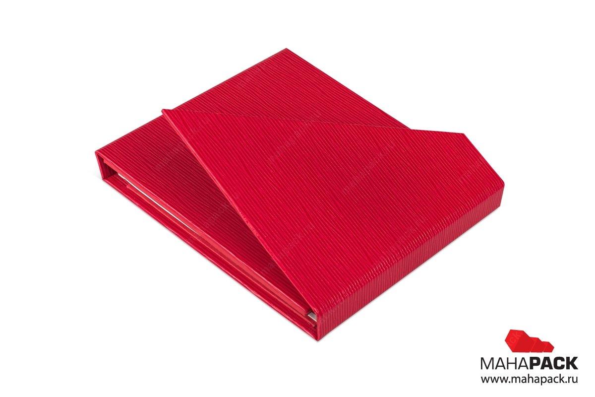 производство упаковки для буклета и карты