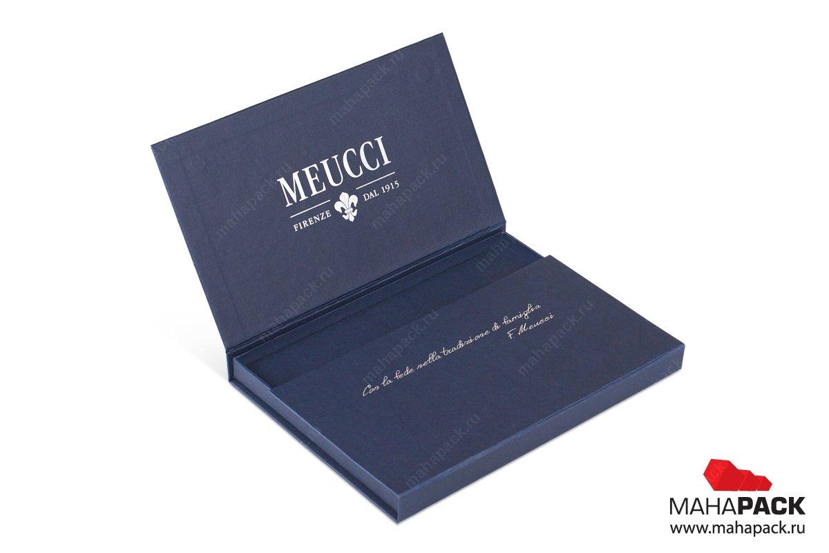 подарочная упаковка с ложементом для флешек